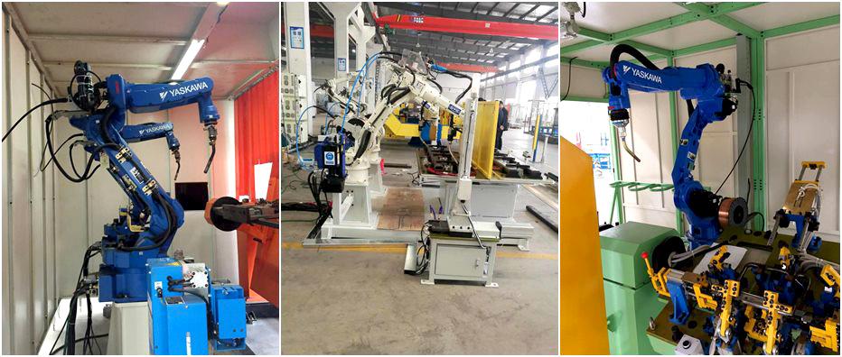 弧焊机器人产品展示