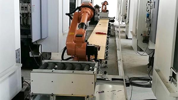 机床上下料机器人