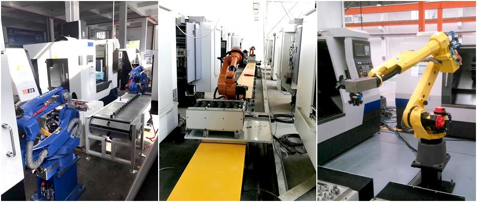 机床上下料机器人产品展示