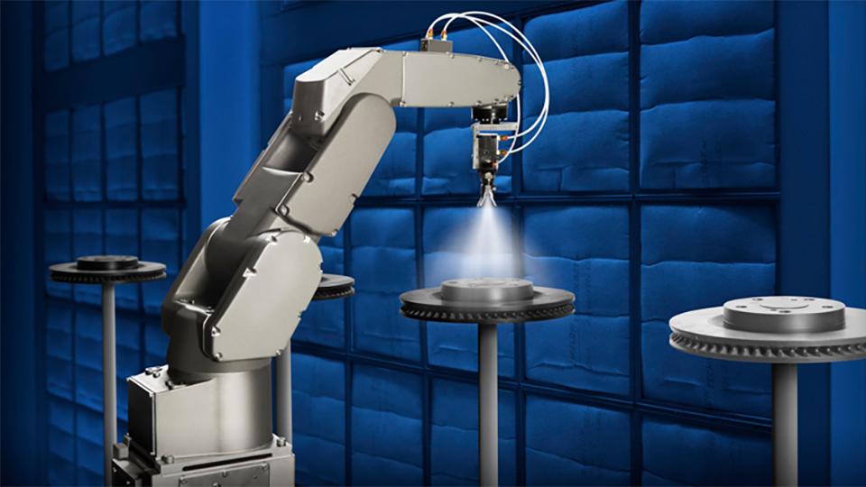 悦川机器人抛光打磨解决方案