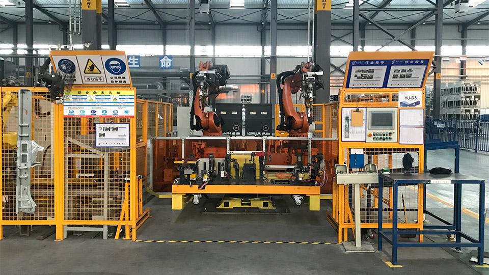 悦川焊接机器人焊接切割解决方案