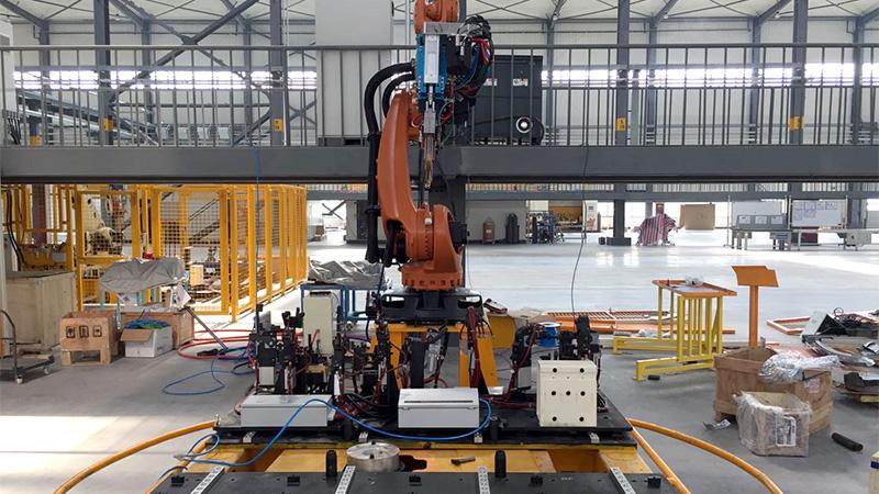 悦川点焊机器人订购合作案例