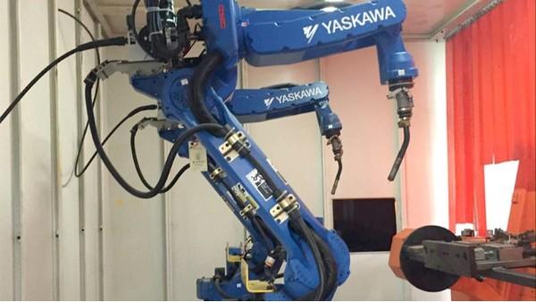 悦川焊接机器人合作案例