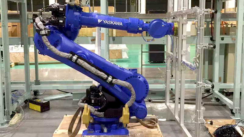 悦川工业机器人合作案例