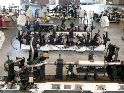 悦川机器人生产一角
