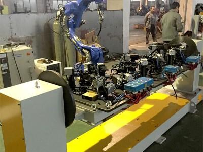 悦川机器人生产线