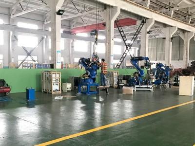 悦川机器人生产基地